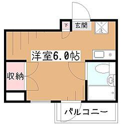 レヂオンス久米川VII[4階]の間取り