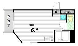 ベル板宿[4階]の間取り