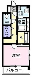 シャンベルジュKT[4階]の間取り