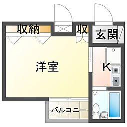 武政ビル[4階]の間取り