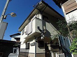 大阪府箕面市西小路1丁目の賃貸アパートの外観