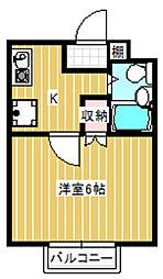 サンシティ稲田堤第6[103号室]の間取り