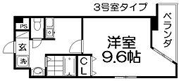 Mプラザ津田駅前11番館[3階]の間取り