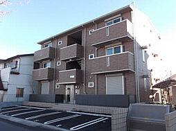 埼玉県八潮市大字浮塚の賃貸アパートの外観
