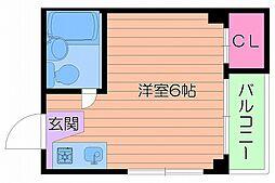 collection城北I[2階]の間取り