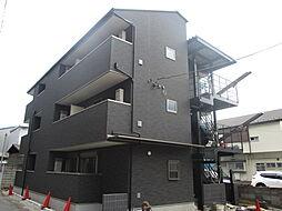 千葉県市川市南八幡5丁目の賃貸アパートの外観