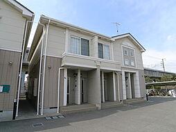 兵庫県加古郡播磨町南大中1の賃貸アパートの外観