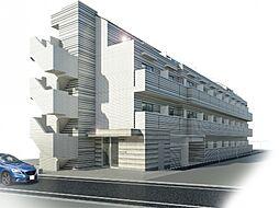 神奈川県川崎市幸区中幸町1丁目の賃貸マンションの外観