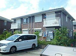 東京都八王子市七国2丁目の賃貸アパートの外観