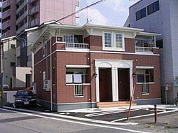 愛知県岡崎市針崎町字東カンジの賃貸アパートの外観