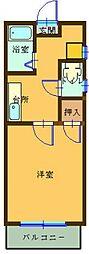 ヒルサイドフォーラムI[2階]の間取り