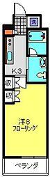 イーリス浅間町[608号室]の間取り
