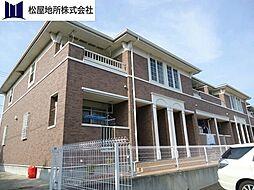 愛知県田原市福江町沢の賃貸アパートの外観