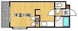 ベルメゾン新宮[505号室]の間取り
