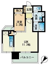 ビエネスタ千代県庁口[5階]の間取り