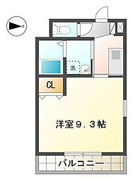 愛知県豊田市梅坪町7丁目の賃貸マンションの間取り