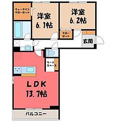 (仮)D-room石井町 F