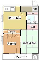 レヂオンス小川[2階]の間取り