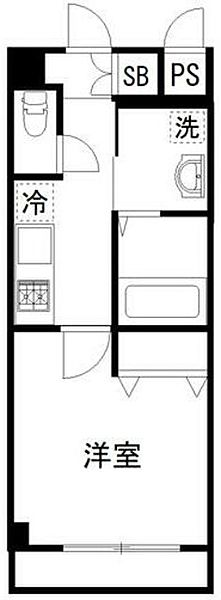 プリズム12番館[6階]の間取り