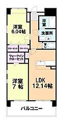 パースペクティブ須恵中央[101号室]の間取り