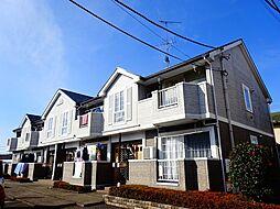 茨城県筑西市みどり町2丁目の賃貸アパートの外観