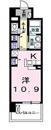 ケイマイティ[305号室]の間取り