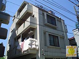 千葉県市川市新田5丁目の賃貸マンションの外観