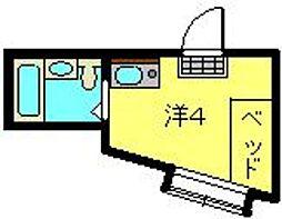 ガーデンハイムII[206号室]の間取り