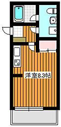 イーシースクエア[2階]の間取り