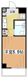 エルニド久米川[1階]の間取り
