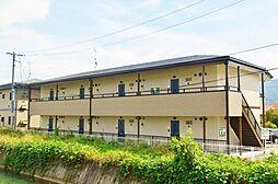 長野県諏訪市大字豊田の賃貸アパートの外観