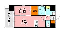 仮称)LANDIC K2620 4階1LDKの間取り