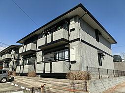 千葉県千葉市緑区おゆみ野南5丁目の賃貸アパートの外観