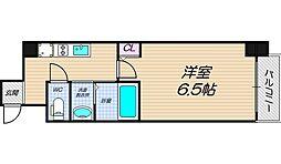 Osaka Metro御堂筋線 天王寺駅 徒歩11分の賃貸マンション 7階1Kの間取り