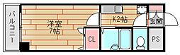 OBA住吉川[2階]の間取り