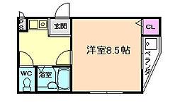 メゾンSAKAMOTO[4階]の間取り