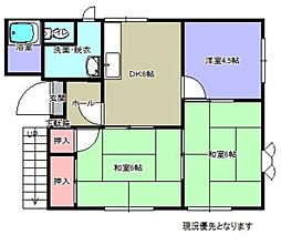 ソレム横浜  B棟[202号室]の間取り