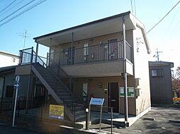 愛知県岩倉市八剱町寺山の賃貸アパートの外観