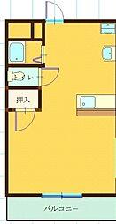 エスパシオ江頭I[303号室]の間取り