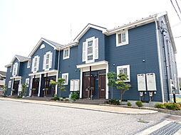 滋賀県彦根市野田山町の賃貸アパートの外観