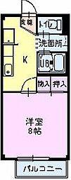 長野県長野市松代町松代清須町の賃貸アパートの間取り