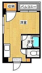 平成ビル[403号室]の間取り