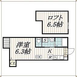 マイスター千葉中央[1階]の間取り