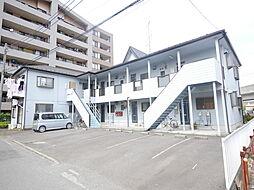 神奈川県海老名市河原口5丁目の賃貸アパートの外観