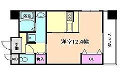 アイビス新梅田[7階]の間取り
