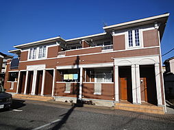 埼玉県八潮市大字新町の賃貸アパートの外観