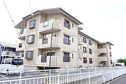 滋賀県栗東市小平井2丁目の賃貸マンションの外観