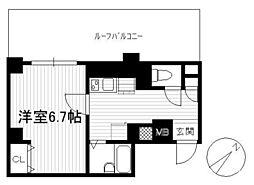 ブロッサムコート文京[5階]の間取り