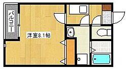 クリスタルI香椎駅東[102号室]の間取り