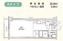 ネズバン桜坂[302号室]の間取り